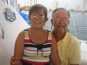 We met Marilyn and Ken in Cartagena, December 2011.