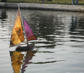 Paris sailboat