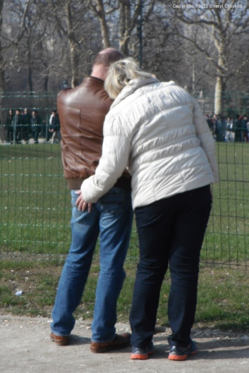 Paris couple